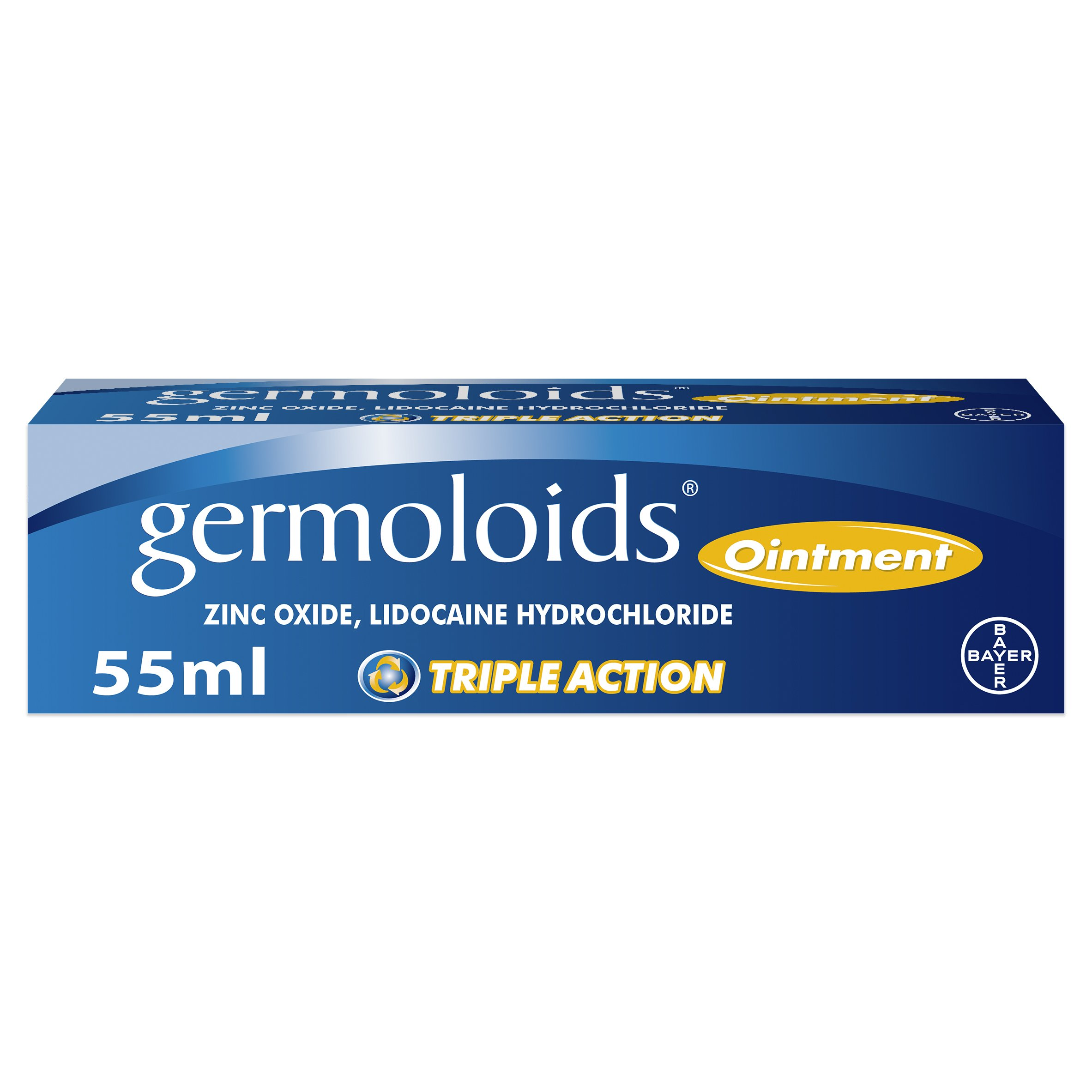 Germoloids Pile Relief Ointment To Sooth & Reduce Painful Piles Swelling 55ml