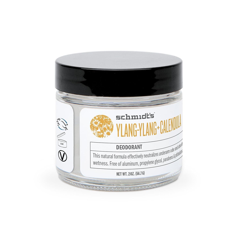 Schmidt'S Deodorant - Ylang-Ylang and Calendula (Protection and Wetness Relief; Aluminum-Free) Schmidt's Deodorant 713757938129