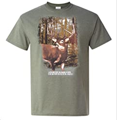 eThought As The Deer Pants for Streams of Water, so My Soul Pants for You, My God. Psalm 42:1 - Tshirt