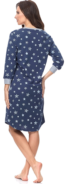 35309e785 Italian Fashion IF Premamá Camisón Premamá Lactancia Mujer C492T 0111   Amazon.es  Ropa y accesorios
