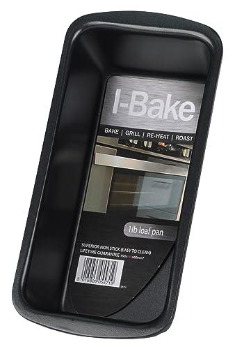 I-Bake 1 lb Loaf Pan, Black
