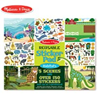 Melissa & Doug Reusable Sticker Pad Habitats