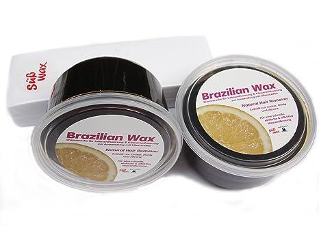 1200g Süß Wax Brazilian Wax zur Enthaarung mit Vlies 100% Natürlich. Warmwachs aus Zucker, Honig und Zitrone. Bikini Wax Suga