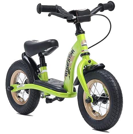 Bikestar | Bicicleta sin pedales para niños de 10 pulgadas | Color Verde | A partir
