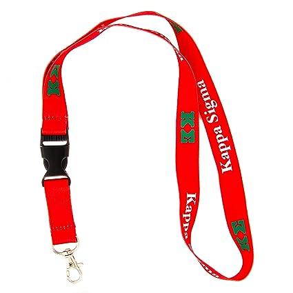 Amazon.com: Kappa Sigma fraternidad Carta Lanyard Llavero ...