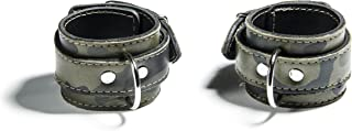 product image for Gunnery Adjustable Camo Leather Wrist Cuffs