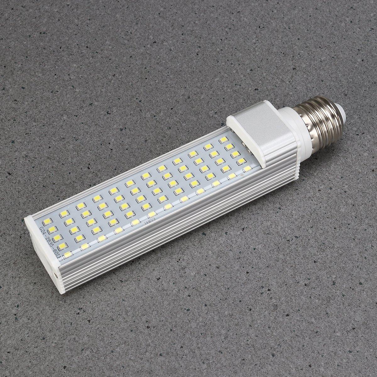 Amazon.com : UEETEK Aquarium Light, 52LEDs 800-950 Lumens 11W E27 LED Energy Saving Lamp Light for Fish Pod/Fish Tanks/Aquariums (White) : Pet Supplies