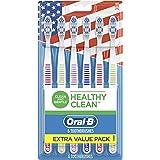 Oral-b Healthy Clean Toothbrushes, Medium Bristles, 6 Count