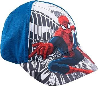 Spiderman Chicos Gorra de béisbol - Azul - 54: Amazon.es: Ropa y ...