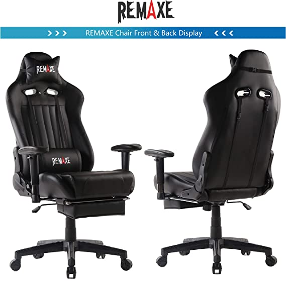 Gaming Chairs,High Back Ergonomic PC Gaming Chair Computer Racing Chair Office Chair Desk Chair Video Gaming Chair Swivel Executive Leather Chair with ...