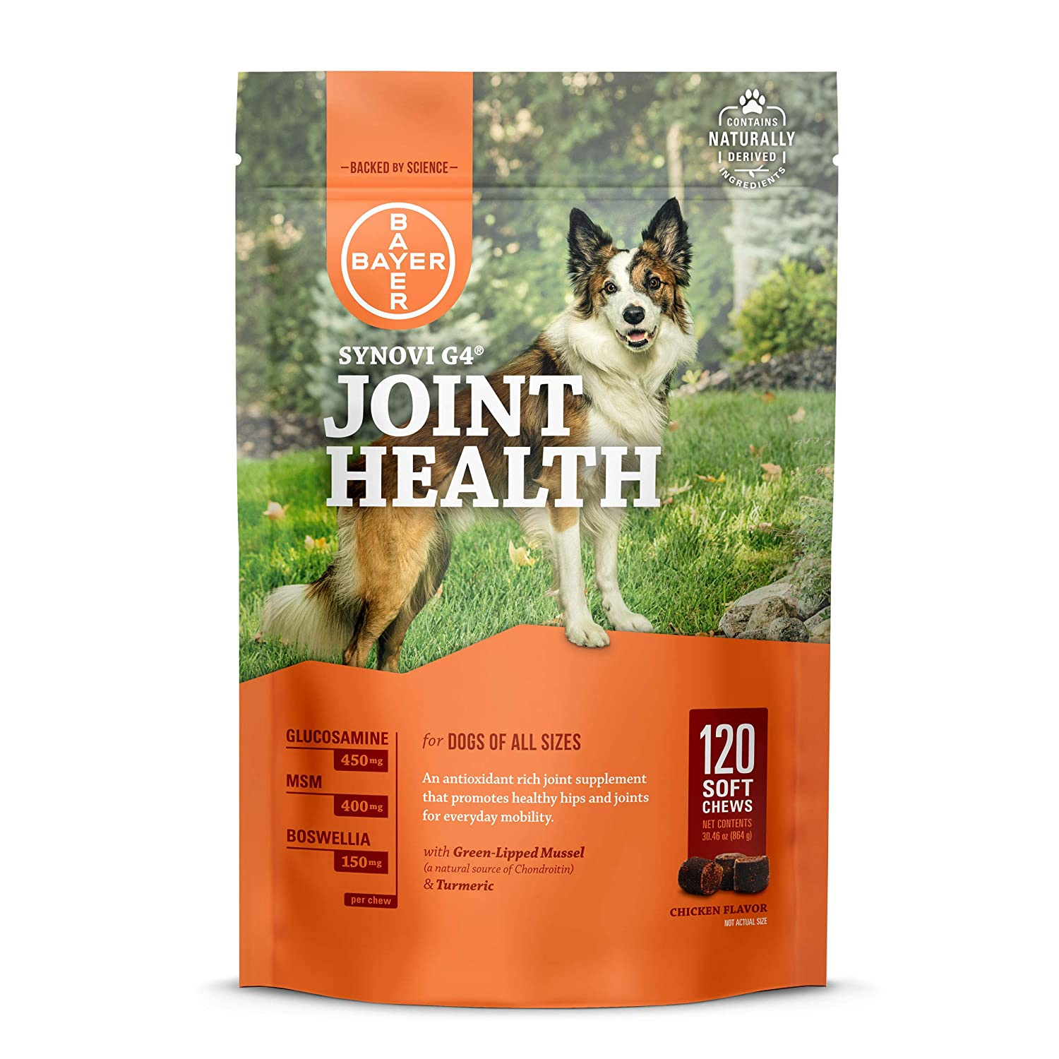 synovi joint health supplement for dogs