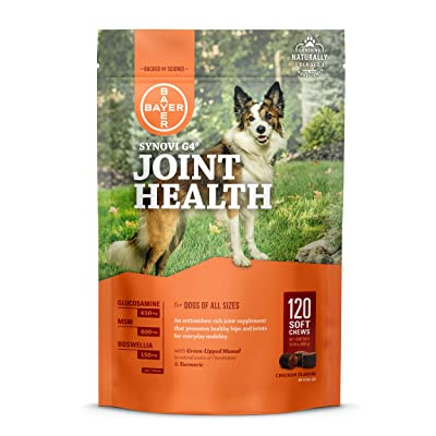 Synovi G4 Dog Joint Supplement Chews