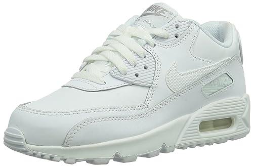 Nike - Zapatillas de deporte Nike Air Max 90 GS, Infantil, Blanco (weiß), 40: Amazon.es: Zapatos y complementos