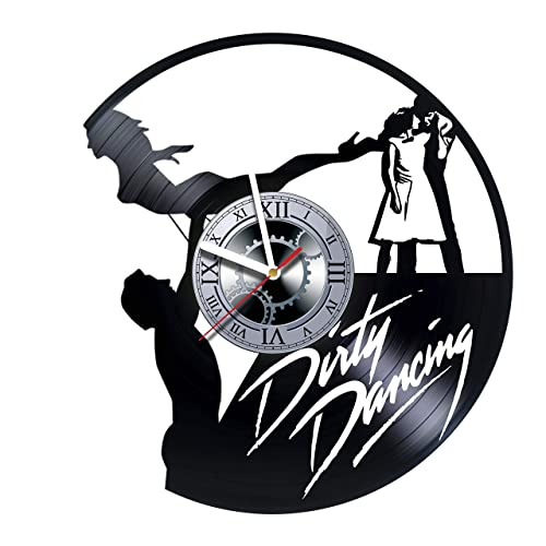 Amazon Com Dirty Dancing Vinyl Wall Clock Gift Idea For