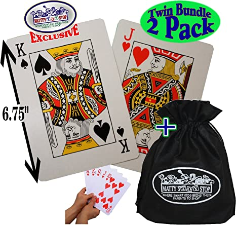 Matty de Juguete Stop diseño de Juego de Cartas (6.75