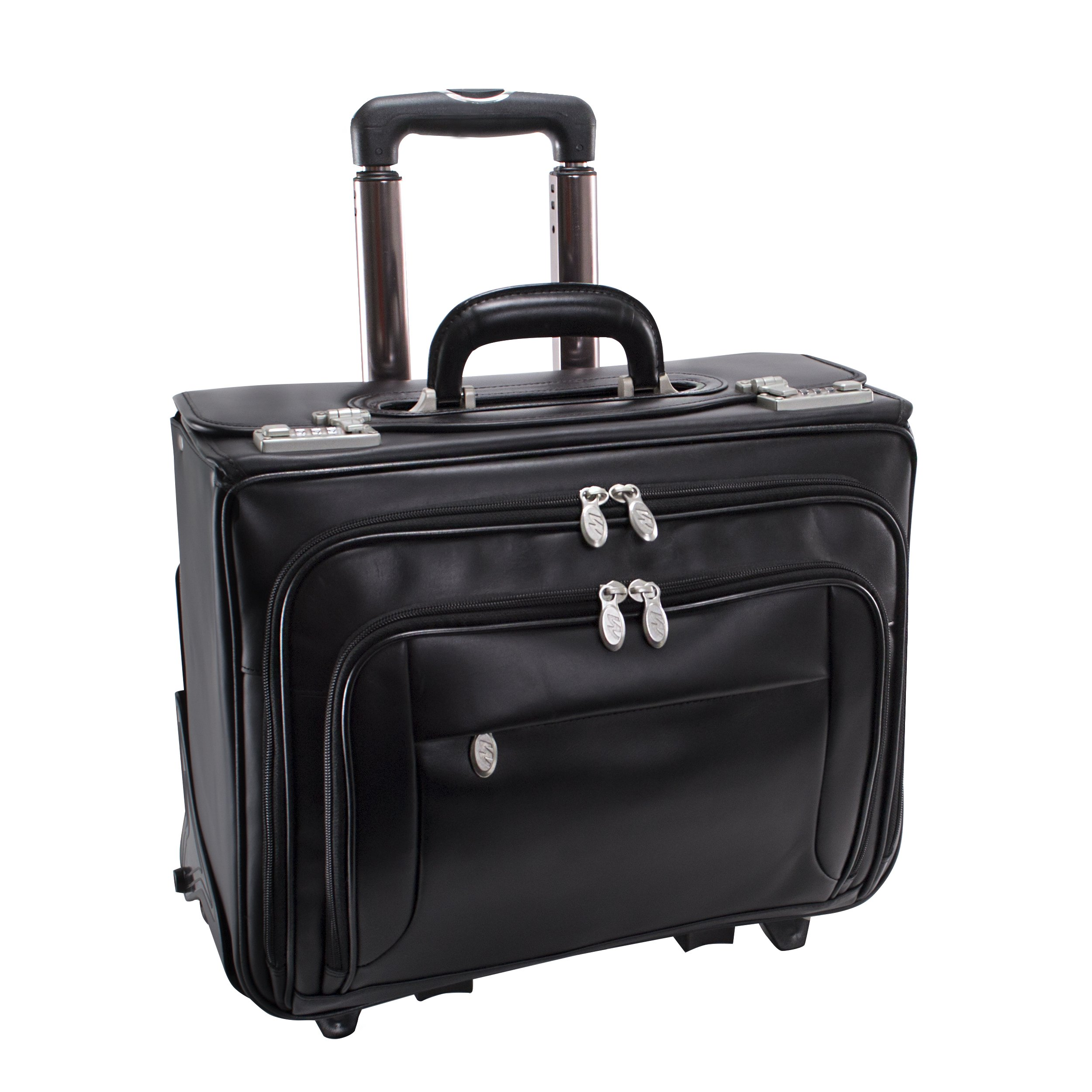 McKleinUSA SHERIDAN 84665 Black 17 Detachable-Wheeled Catalog Case