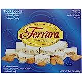 Ferrara Torrone, Almond Honey Nougat Candy, 7.62-Ounce Boxes (Pack of 4)