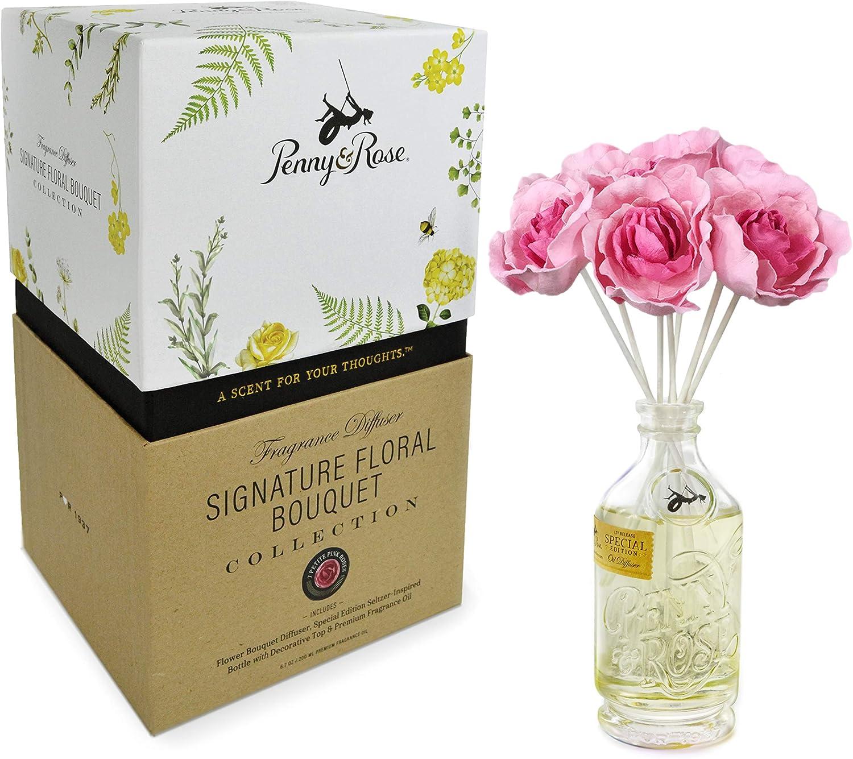 Penny & Rose Petite Pink Rose Diffuser | Gram's Cran Cobbler Oil Scent