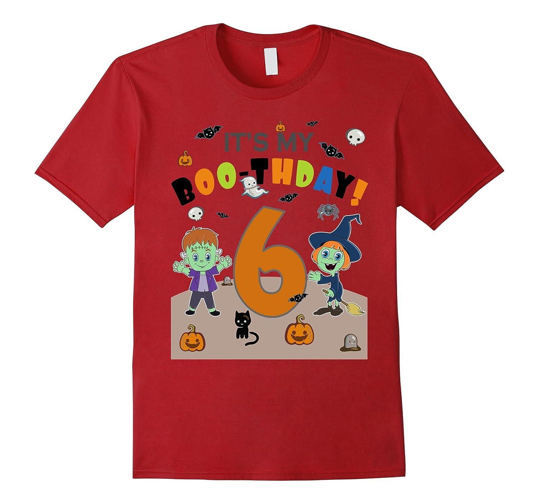 Halloween Birthday Shirt For 6 Year Old Kids