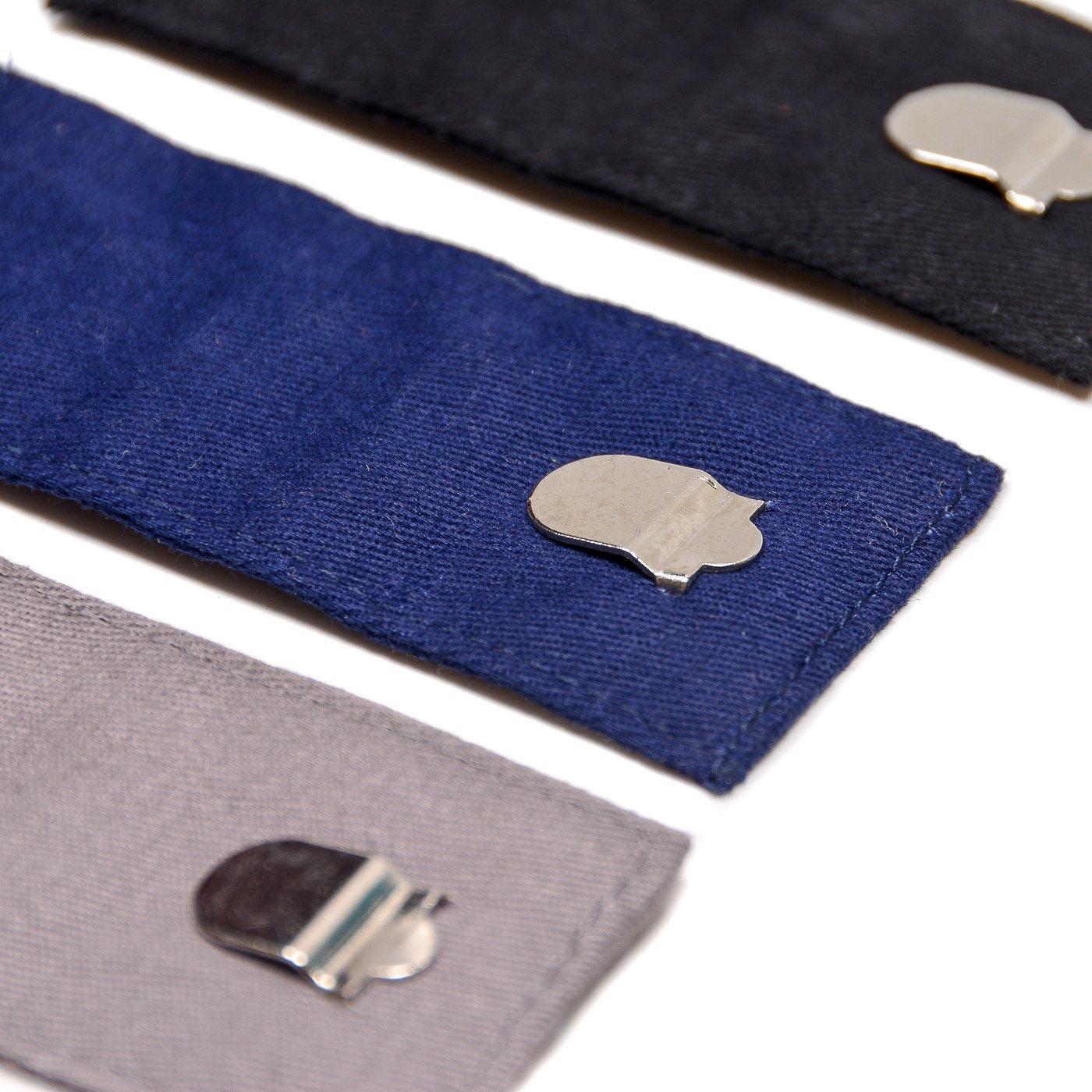 2 tipos de extensores ajustables de la cintura para los pantalones vaqueros y pantalones del juego, 10 pedazos