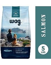 Amazon Brand - Wag Dry Dog Food Salmon & Lentil Recipe (5 lb. Bag) Trial
