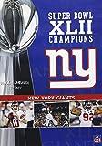 NFL Super Bowl XLII - New York Giants Championship DVD