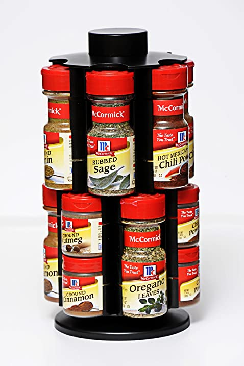 Patented Adjustable Spice Rack Organizer By SpiceRax