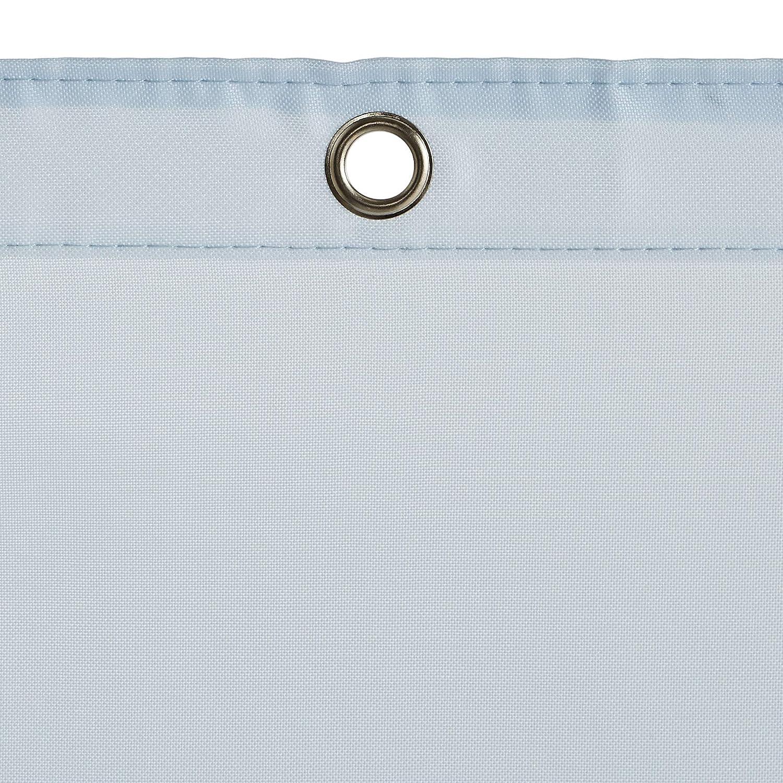 Basics brote verde Cortina de ducha de poli/éster estilo tafet/án 183 x 183 cm
