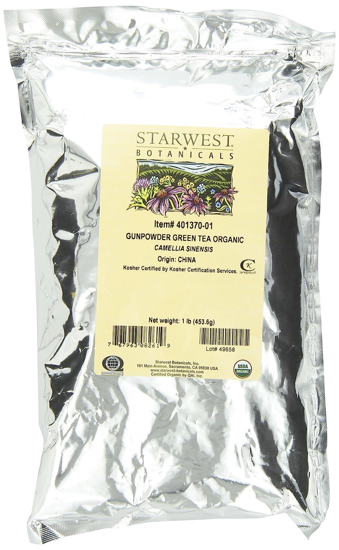 Amazon starwest botanicals organic gunpowder green tea 1 amazon starwest botanicals organic gunpowder green tea 1 pound bag health personal care xflitez Images