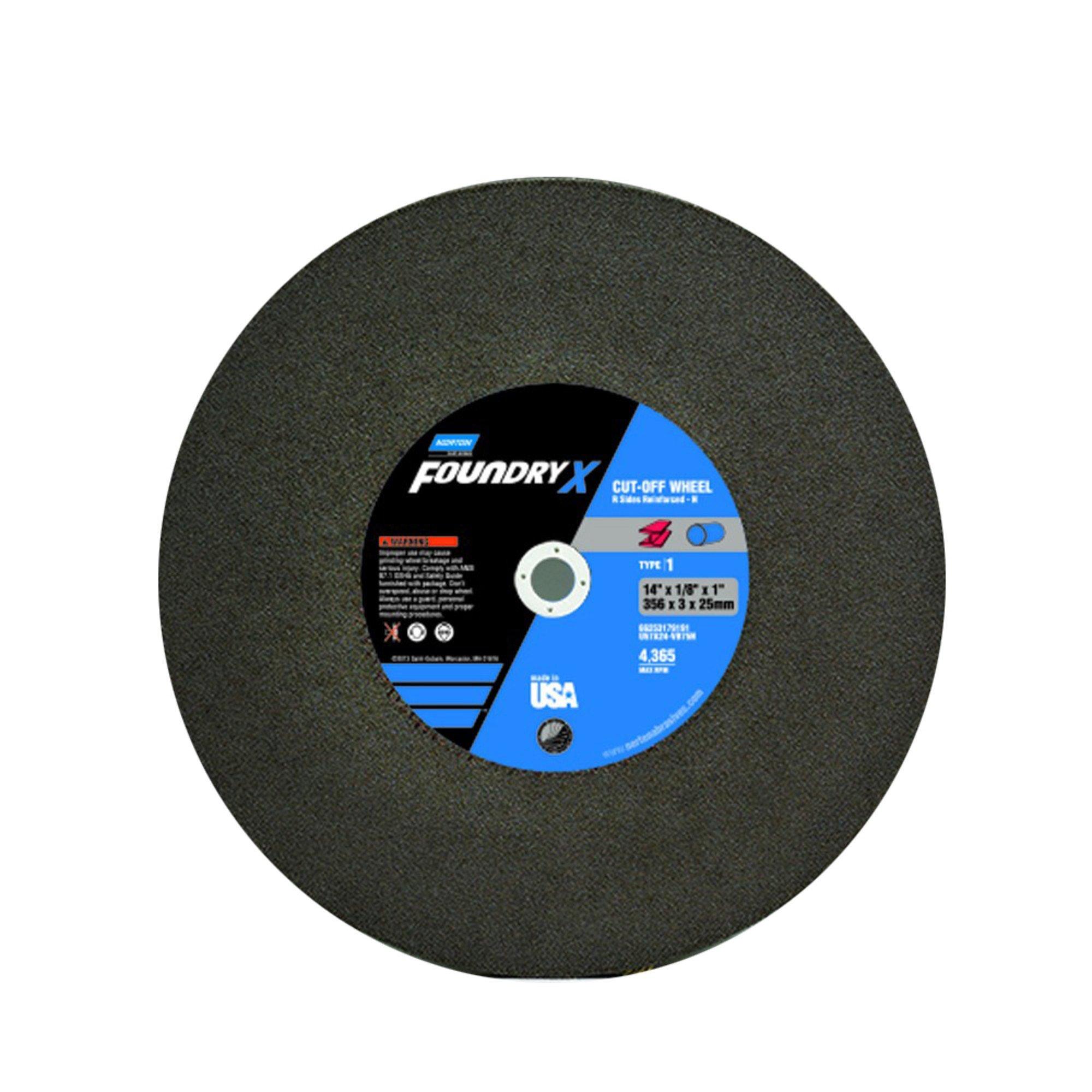 Norton 66253179191 Surface Grinding Wheels Size 14 x 1/8 x 1