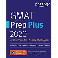 GMAT Prep Plus 2020: 6 Practice Tests + Proven Strategies + Online + Mobile