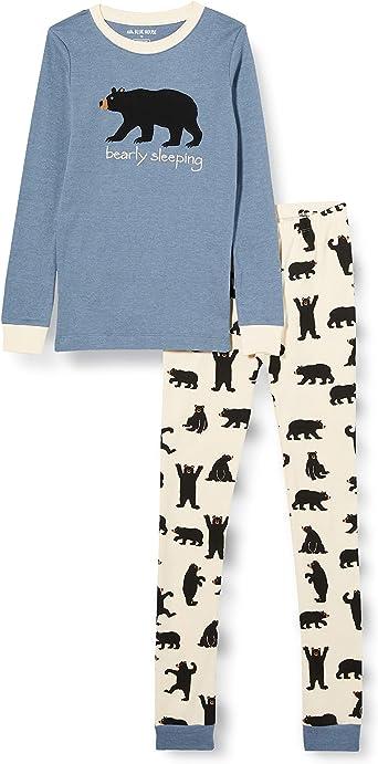 Hatley Bear Family Pajamas Juego de Pijama Unisex Adulto