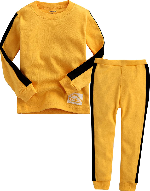 VAENAIT BABY 12M-12 Toddler Kids Boys Girls 100% Cotton Car Train Fireman Snug fit Sleepwear Pajama Pjs Set…