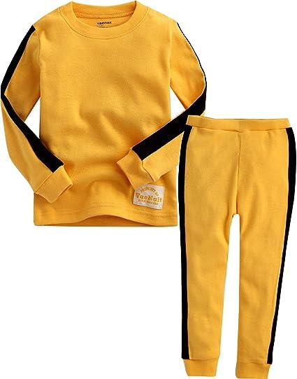 9d156e54208f Amazon.com  Vaenait baby Kids LIttle Boys Toddler Unisex Sleepwear ...