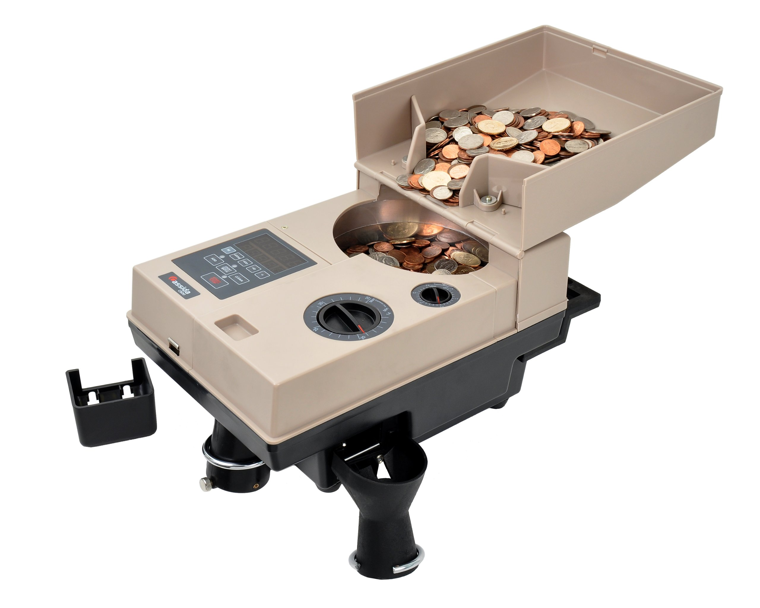 Cassida Compact & Portable Coin Counter/Off-Sorter (C500) by Cassida