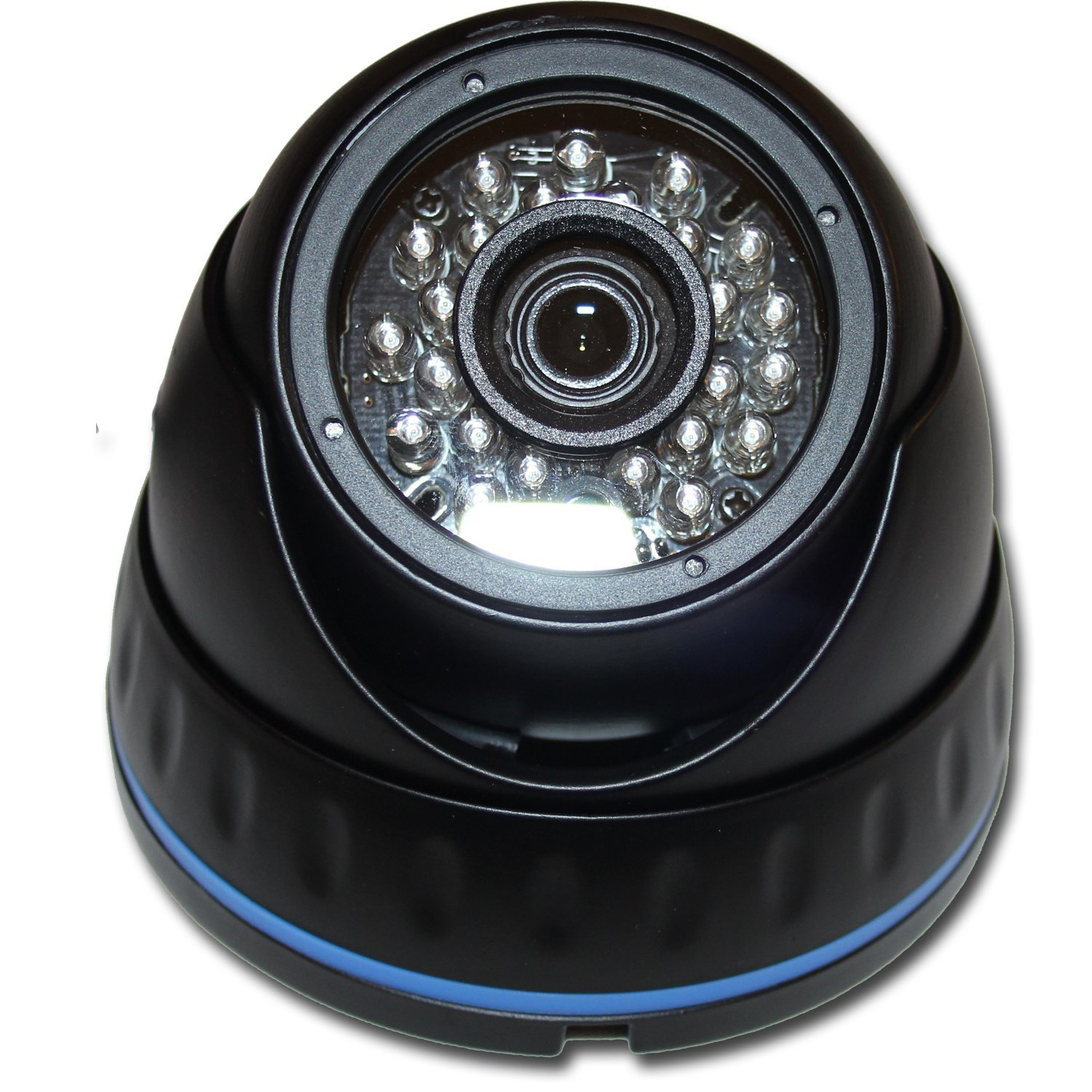 1080P HD-TVI HD-CVI AHD 960H IR Black DOME SECURITY SURVEILLANCE CAMERA Weatherproof Infrared [並行輸入品] B01KBRC310