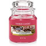 Yankee Candle Small Jar Scented Candle, Frosty Gingerbread