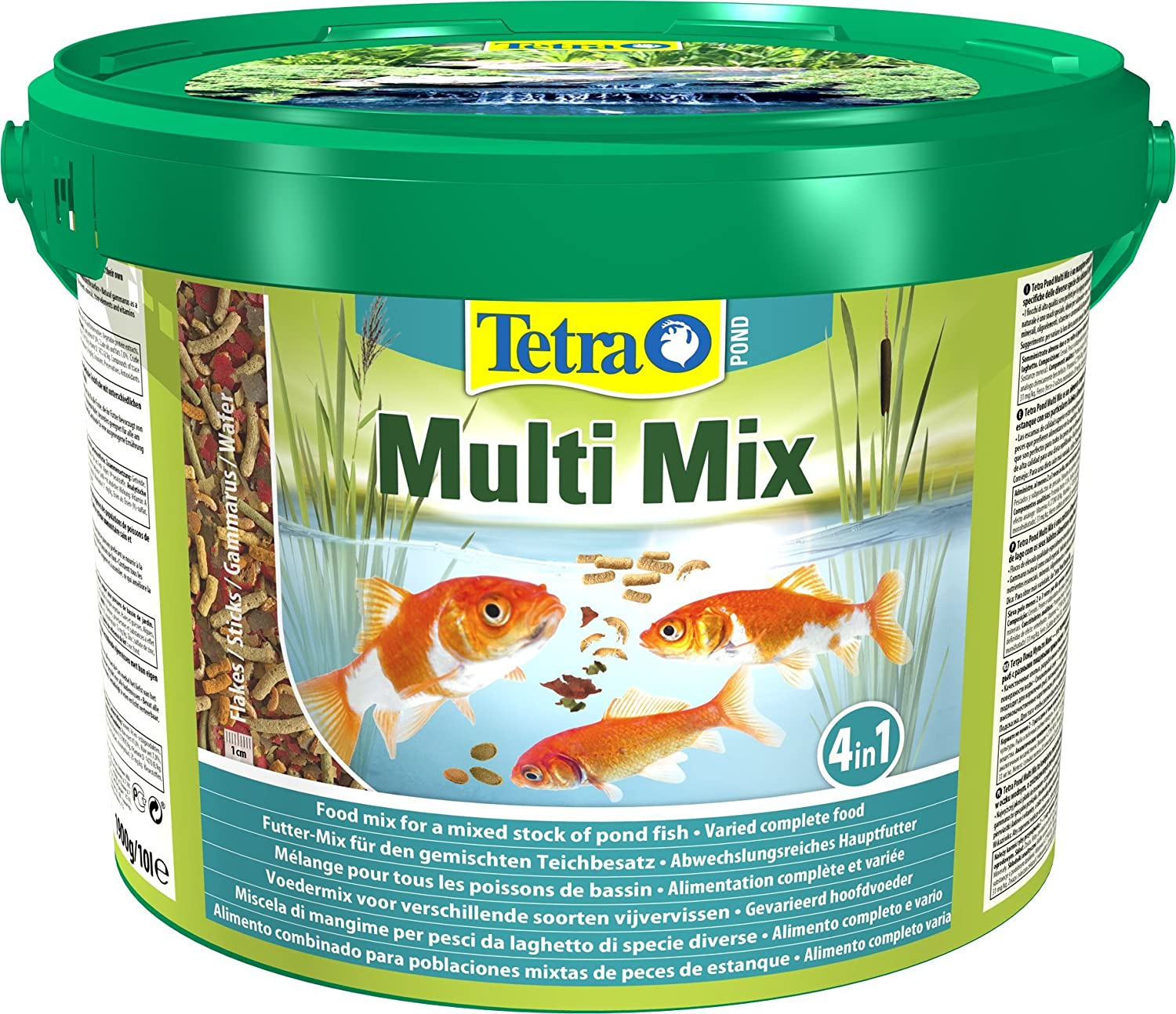 Tetra - Alimento multi-mix para peces de estanque