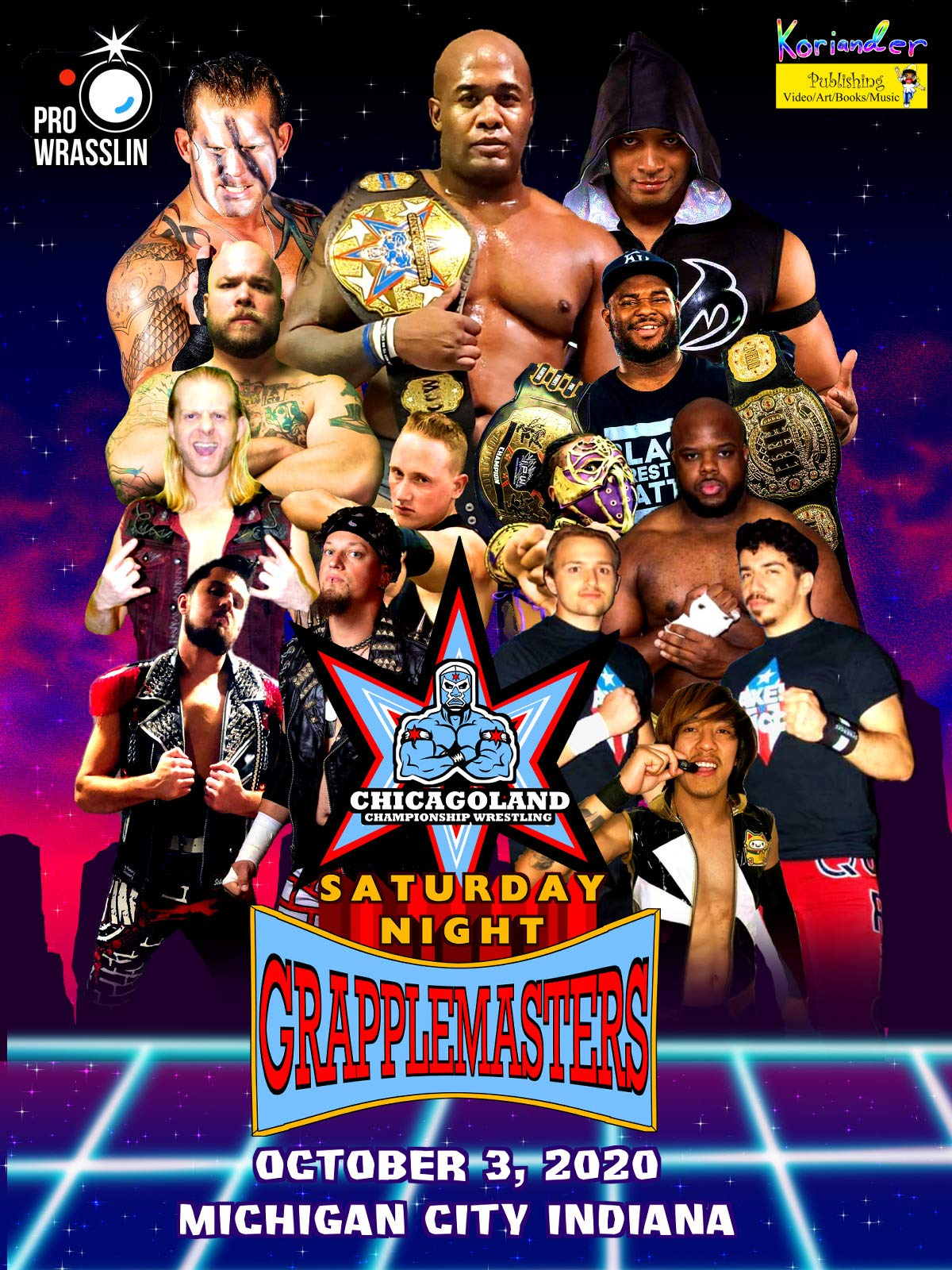 Chicagoland Championship Wrestling: Saturday Night Grapplemasters
