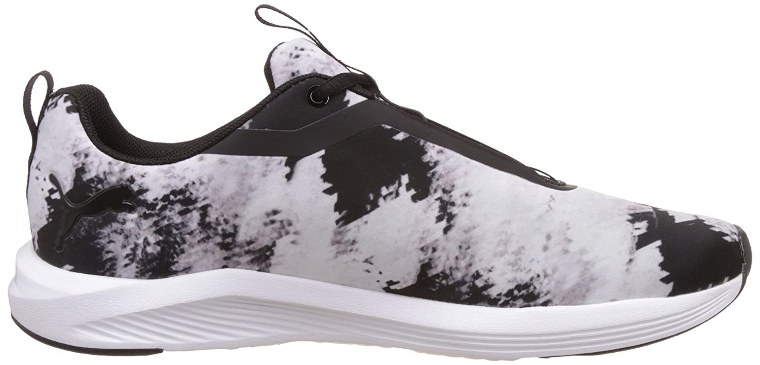 Puma Damen Prowl Graphic WN's Hallenschuhe, Weiß White Black 01, 38.5 EU