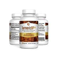 TurmericBP+: Anti-Inflammatory & Antioxidant Formula, 30 Capsules per Bottle