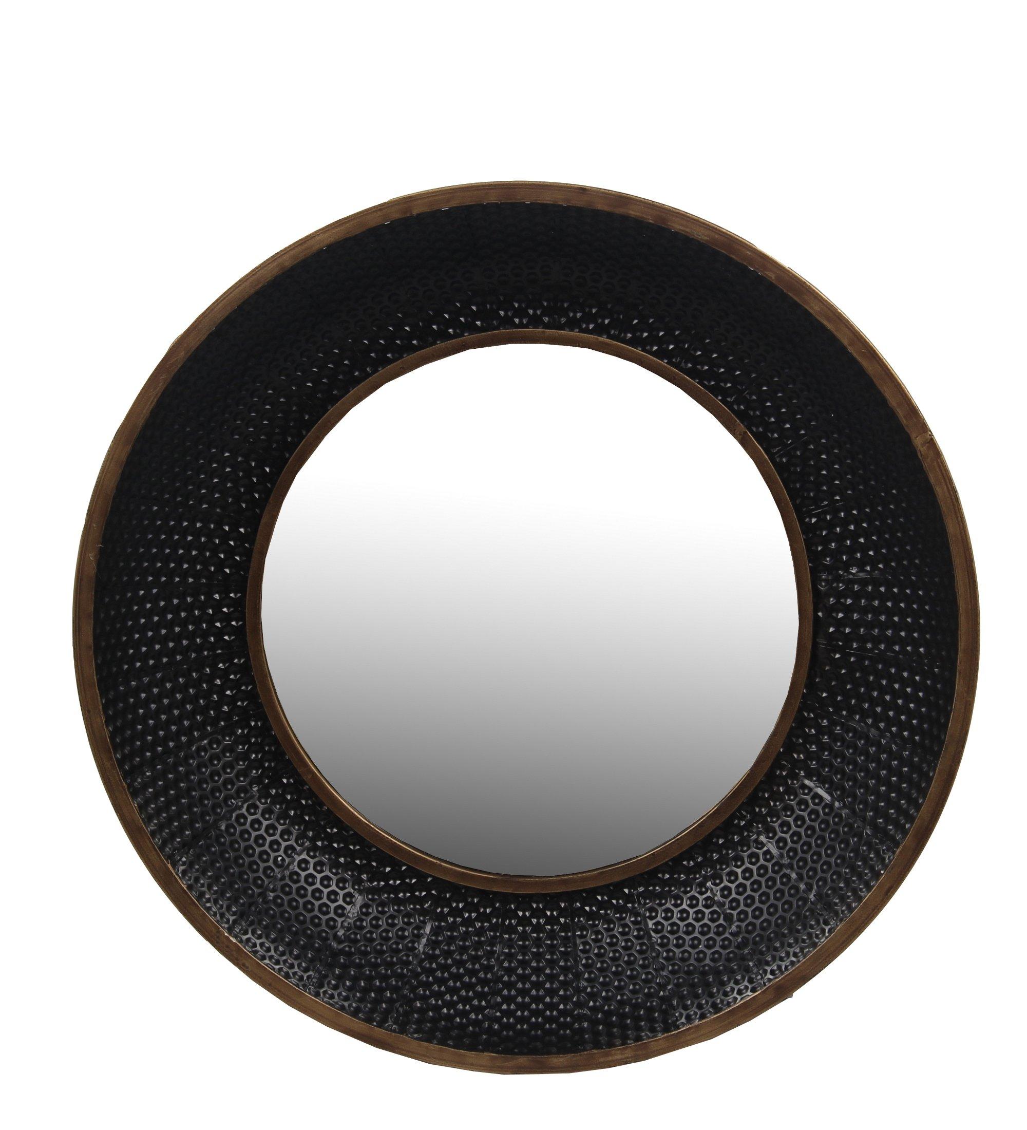 Privilege 16077 Metal Wall Large Mirror