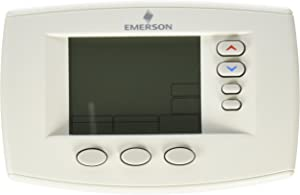 "Emerson 1F95-0671 6"" Programmable Thermostat, Blue"