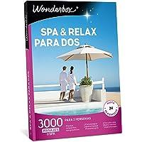 WONDERBOX Caja Regalo -SPA & Relax para Dos- 3.000 experiencias de para Dos Personas