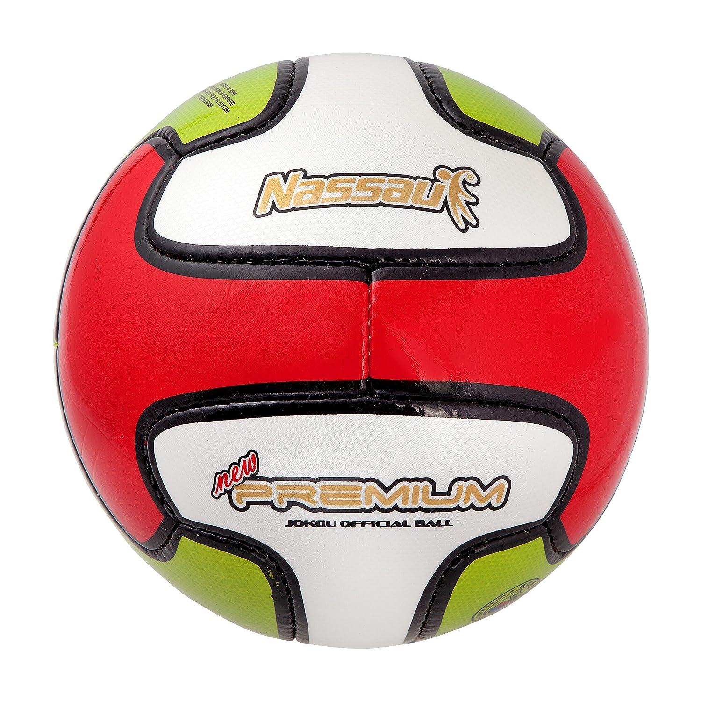 ナッサウ新しいプレミアムPatriot Jokgu公式ボール( sJnPT )足バレーボール4号 B079HR6P1H
