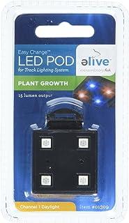 Elive LED Aquarium Fish Tank Pod Lighting - Replacement Pod for LED Track Light Plant  sc 1 st  Amazon.com & Amazon.com: Elive LED Aquarium Fish Tank Pod Lighting ... azcodes.com