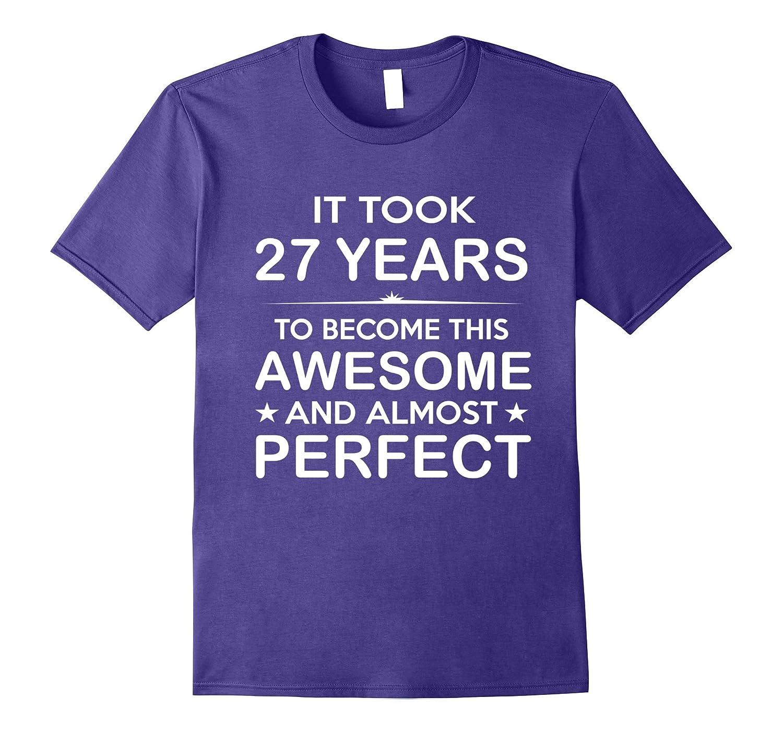 Twenty-Seven 27 Year Old -27th Birthday Gift Ideas Her Him-TH