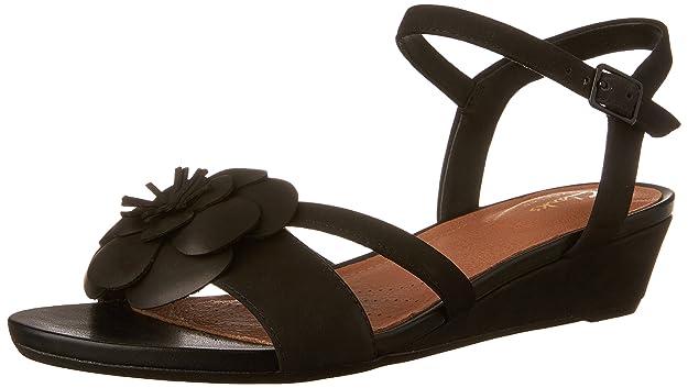CLARKS Artisan Parram Stella Wedge Sandals  B07C4RMPZD