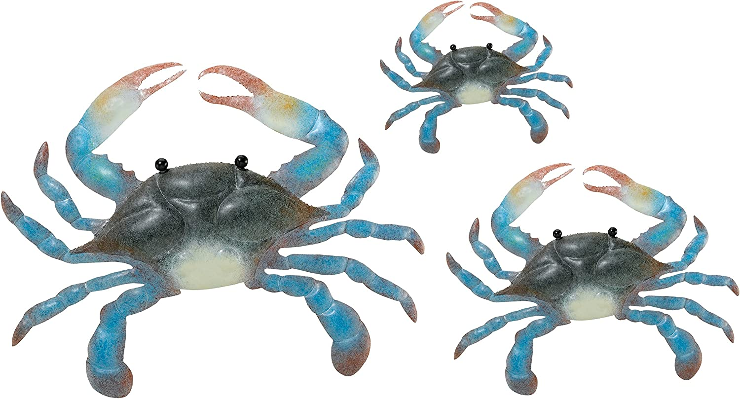 Regal Art and Gift 5418 Crab Wall Art, Blue
