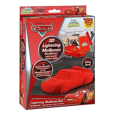 CRAZE 54759 - Magic Arena, Disney Cars Lightning Mcqueen Juego Incluye Accesorios, 200 g, Color Rojo: Juguetes y juegos